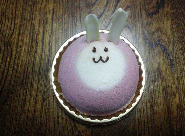らぱん、それはかわいらしいケーキ