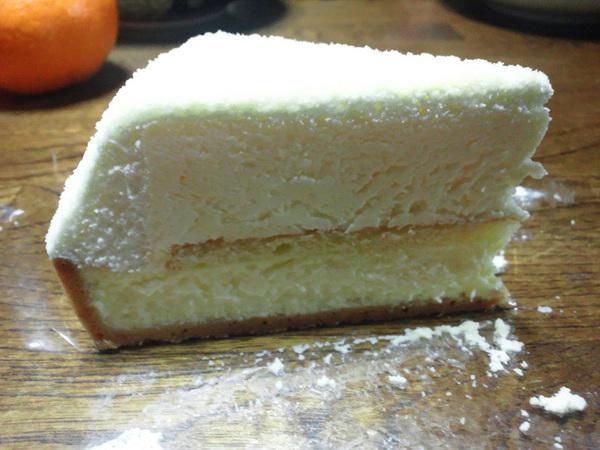 早めのケーキとか